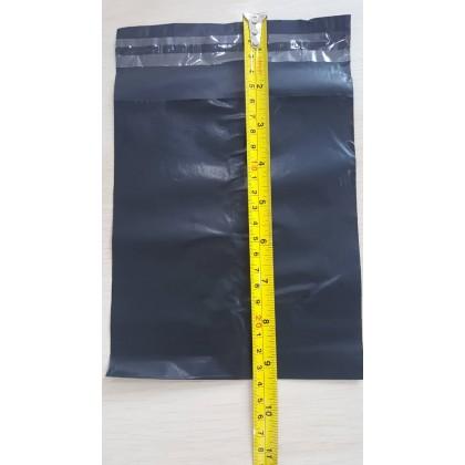 16x23cm Black Courier Bag Parcel Bag Packaging Shipping Bag Without Pocket Pos Beg Kurier 快递 邮寄 包裹袋子